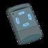Hormann HSM4 868 met blauwe knoppen (Alternatieve handzender)